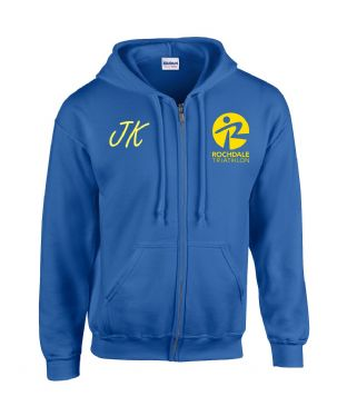 Rochdale Tri Heavy Blend™ full zip hooded sweatshirt